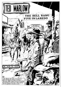 Ringo (KG Murray, 1974 series) #38 — The Bell Rang Five in Laredo (page 1)