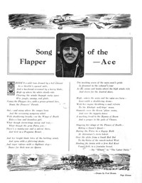 """Johnnie"" You're a Bird! (Unknown, 1930?)  — Song of the Flapper-Ace (page 0)"