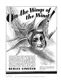 """Johnnie"" You're a Bird! (Unknown, 1930?)  — On the Wings of the Wind! (page 1)"