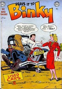 Leave it to Binky (DC, 1948 series) #17 — Untitled