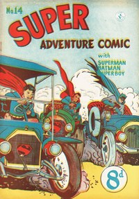 Super Adventure Comic (Colour Comics, 1950 series) #14 — Untitled
