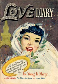 Love Diary (AGP, 1951? series) #3 — Untitled