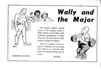 Wally and the Major [Courier-Mail] (Herald and Weekly Times, 1942 series) #11 — Wally and the Major (page 1)