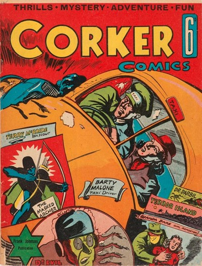 Corker Comics (Frank Johnson, 1940)  (November 1940?)