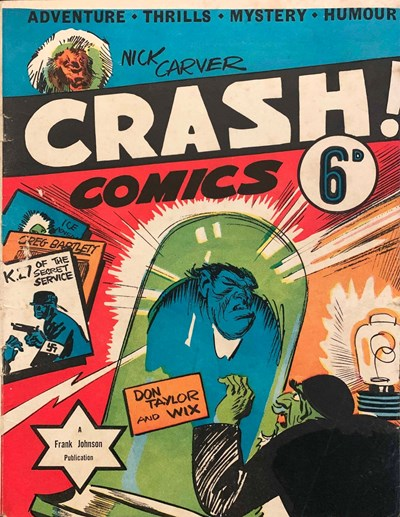Crash Comics (Frank Johnson, 1940)  (October 1940?)