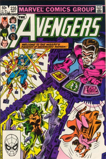 The Avengers (Marvel, 1963 series) #235 (September 1983)