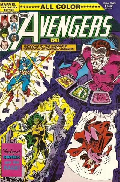 The Avengers (Federal, 1984 series) #1 ([October 1985?])