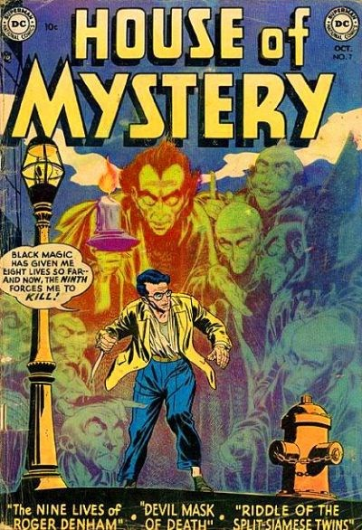 House of Mystery (DC, 1951 series) #7 (October 1952)