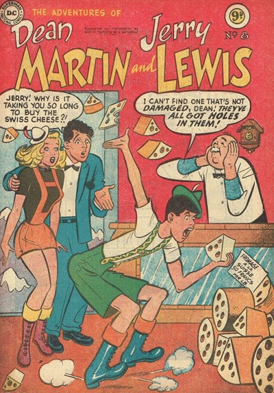 The Adventures of Dean Martin and Jerry Lewis (Frew, 1956 series) #8 ([1956?])