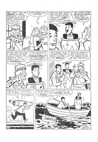 The Adventures of Dean Martin and Jerry Lewis (M. Rubin, 1956? series) #4 — Untitled (page 1)