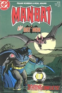 Man-Bat (DC, 1984 series) #1 (December 1984)