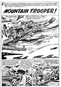 Army at War (Murray, 1982?)  — Mountain Trooper (page 1)