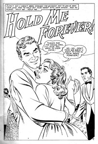 Love Song Romances (Murray, 1977 series) #92 — Hold Me Forever! (page 1)