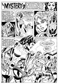 Tales of the Amazons (Murray, 1981?)  — The Mystery of Nubia! (page 1)