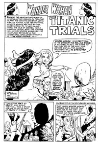 Tales of the Amazons (Murray, 1981?)  — The Titanic Trials (page 1)