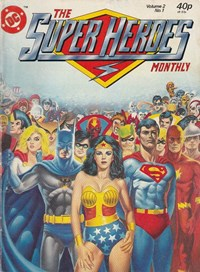 The Super Heroes Monthly (London Editions, 1981 series) v2#1 (October 1981)