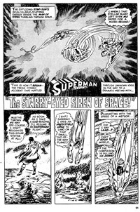 The Super Heroes Monthly (Egmont Publishing, 1980 series) v1#4 — The Starry-Eyed Siren of Space! (page 1)