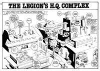 The Super Heroes Monthly (Egmont Publishing, 1980 series) v1#4 — The Legion's H.Q. Complex (page 1)