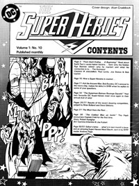 The Super Heroes Monthly (Egmont Publishing, 1980 series) v1#10 — Untitled (page 1)