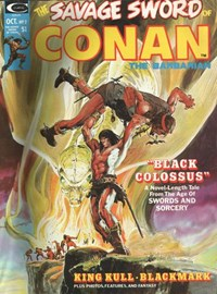 The Savage Sword of Conan (Marvel, 1974 series) #2 — Black Colossus