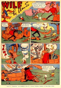 A Climax Comic (KG Murray, 1947 series)  — Wilf (page 1)