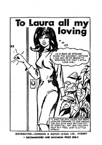 Heart Rending Love Stroies (Yaffa/Page, 1977? series) #1 — To Laura All My Loving (page 1)