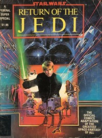 Star Wars Return of the Jedi (Federal, 1983?)  — Untitled (Cover)