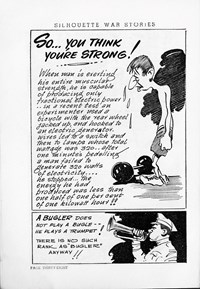 Silhouette War Stories Library (Reigate, 1961 series) #8 — So… You Think You're Strong! (page 1)