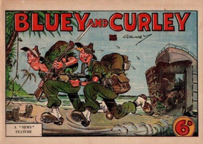 "Bluey and Curley (""Truth"" and ""Sportsman"", 1942? series) #1945 (October 1945)"
