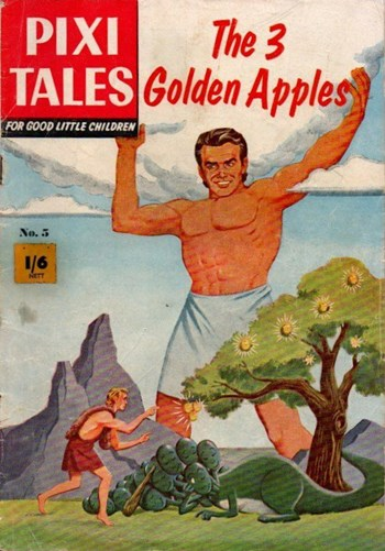 Pixi Tales (Thorpe & Porter, 1959? series) #5 ([1959?]) —The 3 Golden Apples