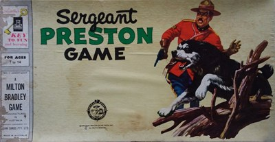Sergeant Preston Game (John Sands, 1955?) #2 ([1955?])
