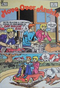 Move Over Archie (Yaffa, 1985? series) #5