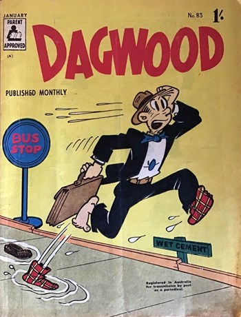 Dagwood Monthly (ANL, 1953 series) #83 (January 1960)