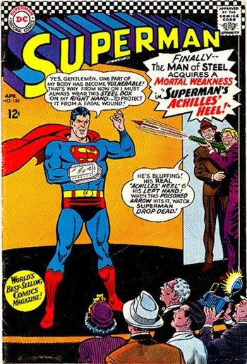 Superman (DC, 1939 series) #185 (April 1966)