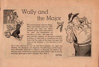 Wally and the Major [Herald] (Herald and Weekly Times, 1942? series) #6 — Wally and the Major (page 1)