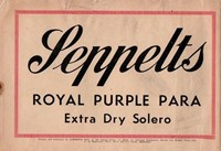 Wally and the Major [Advertiser] (Herald and Weekly Times, 1942 series) #5 — Seppelts Royal Purple Para (page 1)