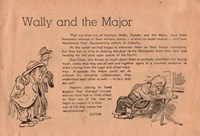 Wally and the Major [Advertiser] (Herald and Weekly Times, 1942 series) #5 — Wally and the Major (page 1)