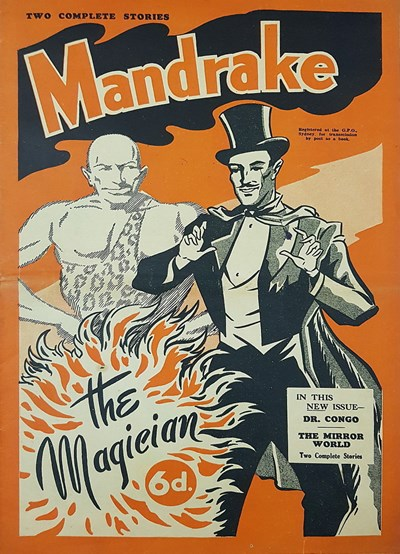 Mandrake the Magician (Consolidated Press, 1938 series)  ([1948?])