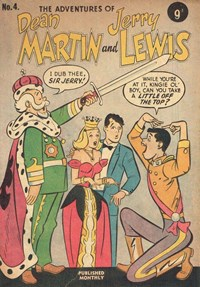 The Adventures of Dean Martin and Jerry Lewis (M. Rubin, 1956? series) #4 — Untitled (Cover)