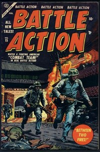 Battle Action (Atlas [Marvel], 1952 series) #15 — Between Two Fires!