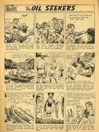 Zip Comics (NSW Bookstall, 1940?)  — The Oil Seekers (page 0)