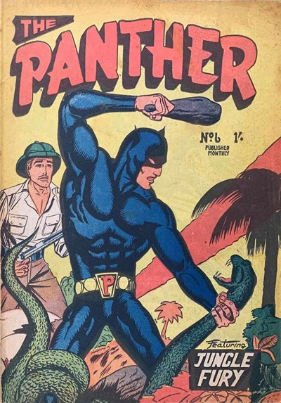 The Panther (Youngs, 1957 series) #6 ([October 1957?])