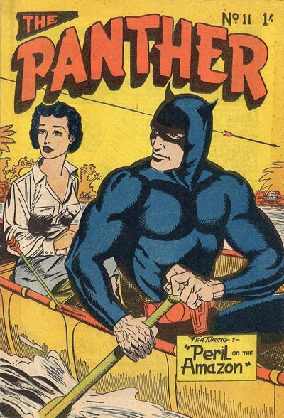 The Panther (Youngs, 1957 series) #11 ([March 1958?])