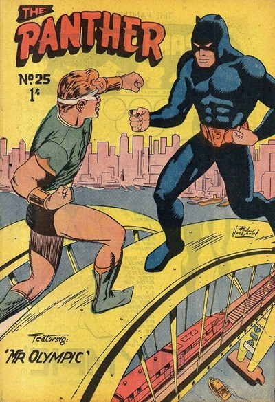 The Panther (Youngs, 1957 series) #25 ([May 1959?])