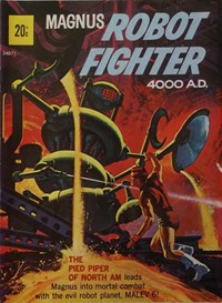 Magnus Robot Fighter 4000 A.D. (Magman, 1974?) #24071 ([1974])