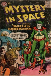Mystery in Space (DC, 1951 series) #37 (April-May 1957)