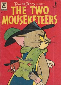 Tom and Jerry Present the Two Mouseketeers (Rosnock, 1955 series) #27