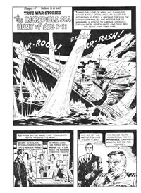 Ripley's Believe It or Not! True War Stories (Magman, 1971) #2158 — The Incredible Sea Hunt of Sub E-11 (page 1)