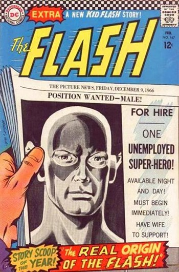 The Flash (DC, 1959 series) #167 (February 1967)