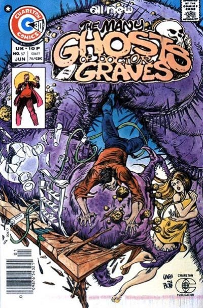 The Many Ghosts of Dr. Graves (Charlton, 1967 series) #57 (June 1976)